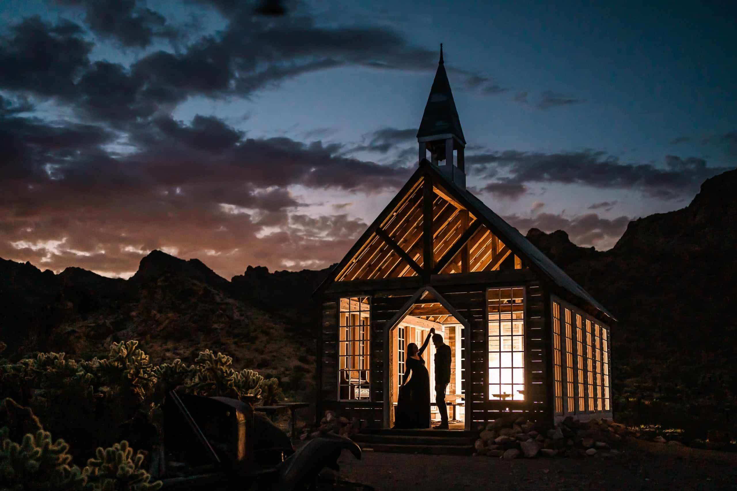 Destination elopement at sunset by Tampa Photographer
