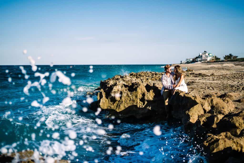 St augustine Florida beach wedding