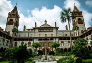 Elopement at Flagler College in St Augustine Florida