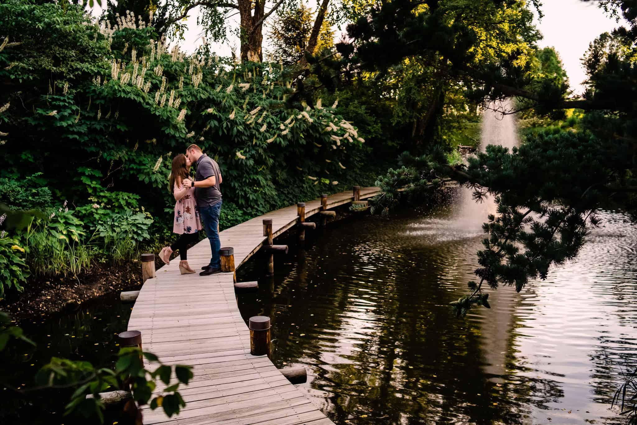 Hamstra Gardens engagement session