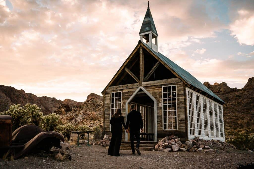 The Wedding Chapel at El Dorado Canyon Mine Tours