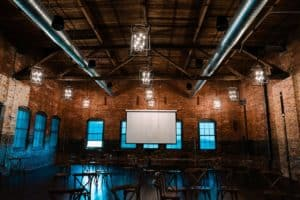 The theatre at Armature Works in Tampa Florida