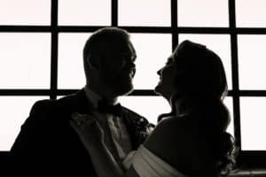 Art Deco wedding style at The Brick