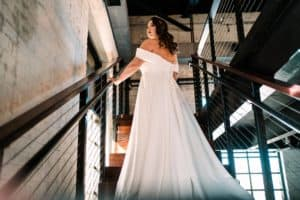 Bride at the Brick in South Bend