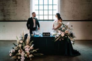 Warehouse Loft Venue wedding at the Brick