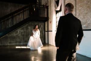 Wedding at the brick south bend