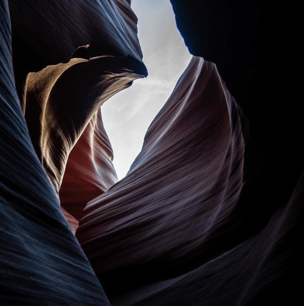 Antelope canyon in page arizona